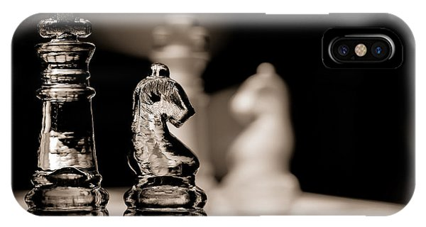 Chess King And Knight IPhone Case