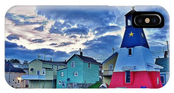 Cheticamp In Cape Breton Nova Scotia IPhone Case