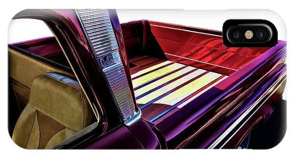 Chevrolet iPhone Case - Chevy Custom Truckbed by Douglas Pittman