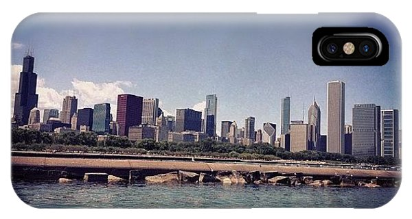 City Scape iPhone Case - Chicago City Scape by Kristin Walsh