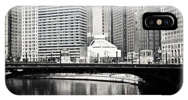 Chicago River Architecture IPhone Case