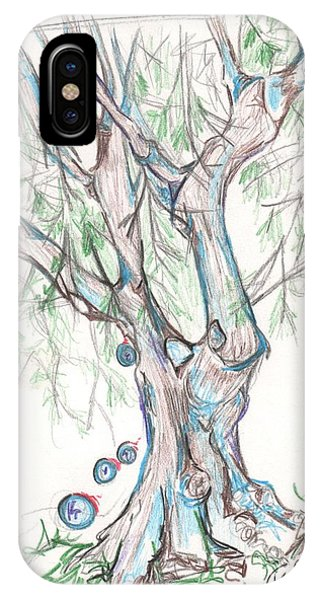 Chico Ca River Tree IPhone Case