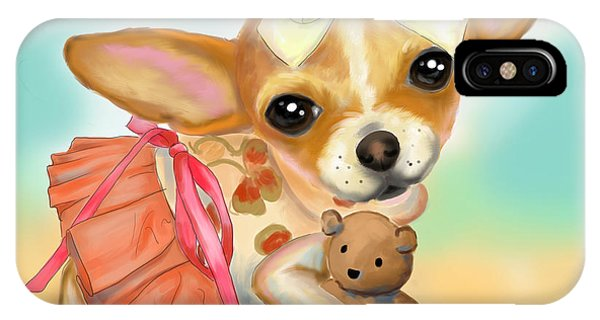 Chihuahua Princess IPhone Case