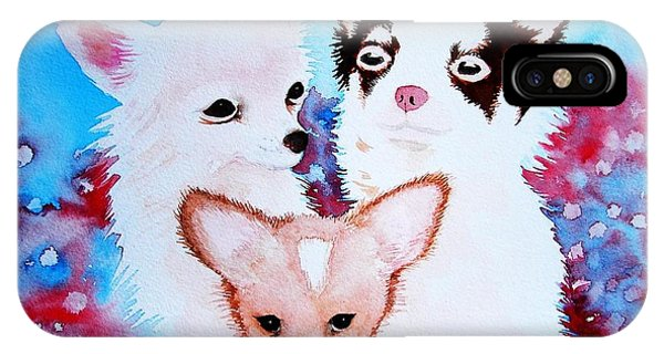 Chihuahuas IPhone Case