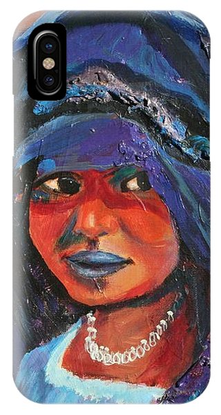 Child Bride Of The Sahara - Close Up IPhone Case