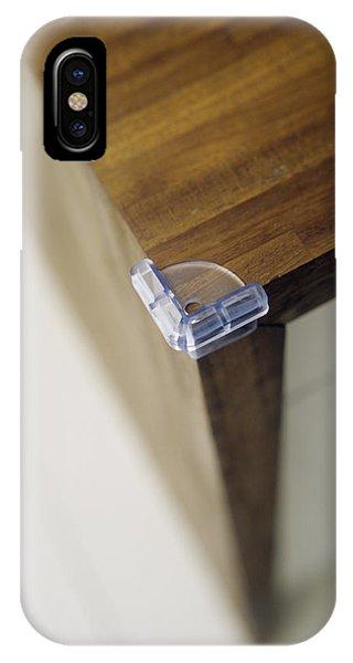 Child Safety: Corner Cushion Phone Case by Ian Boddy