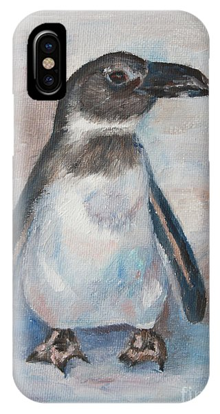 Chilly Little Penguin IPhone Case