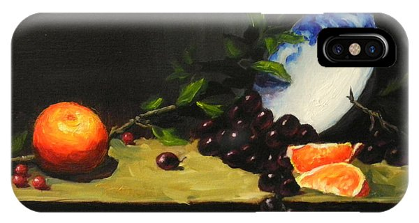China Bowl And Fruits IPhone Case