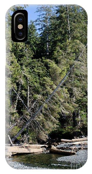 China Creek China Beach Juan De Fuca Provincial Park Bc Canada IPhone Case