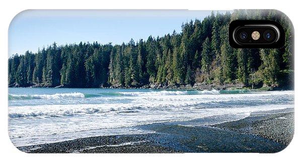 China Surf China Beach Juan De Fuca Provincial Park Bc Canada IPhone Case