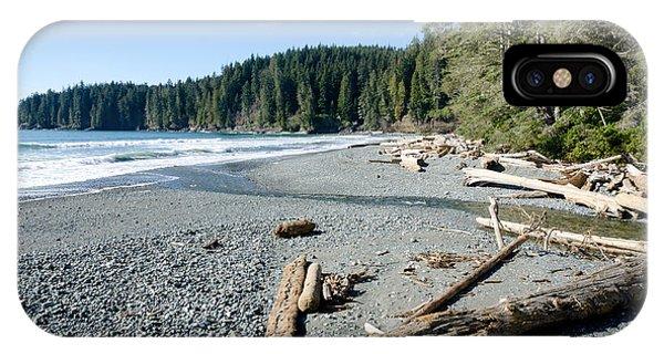 China Wide China Beach Juan De Fuca Provincial Park Vancouver Island Bc Canada IPhone Case