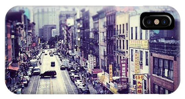 Newyork iPhone Case - Chinatown by Randy Lemoine