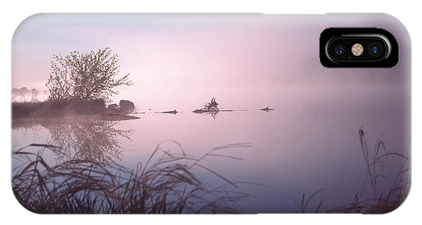 Chippewa River At Dawn IPhone Case