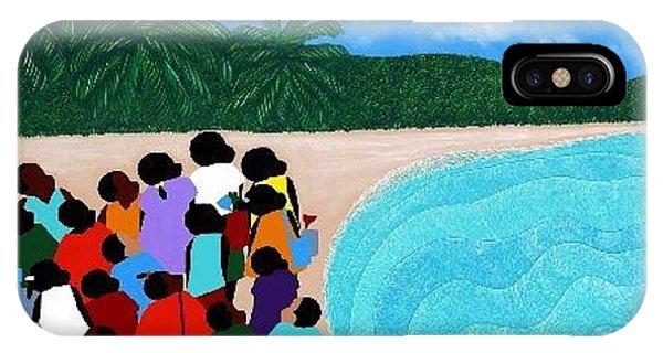iPhone Case - Chou Chou Beach Haiti by Synthia SAINT JAMES