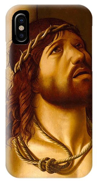 Columns iPhone Case - Christ At The Column by Antonio de Saliba