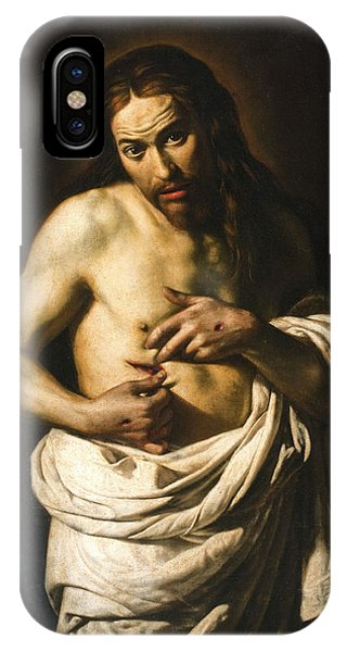 Crucifixion iPhone Case - Christ Displaying His Wounds by Giacomo Galli