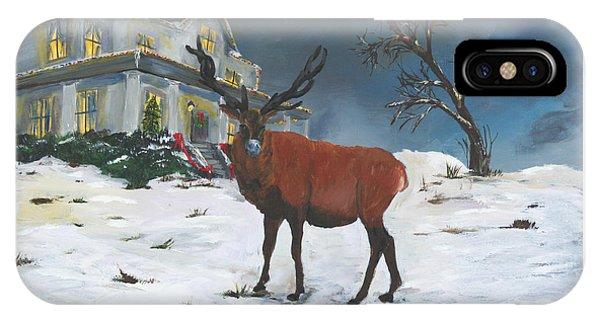 Christmas Elk IPhone Case