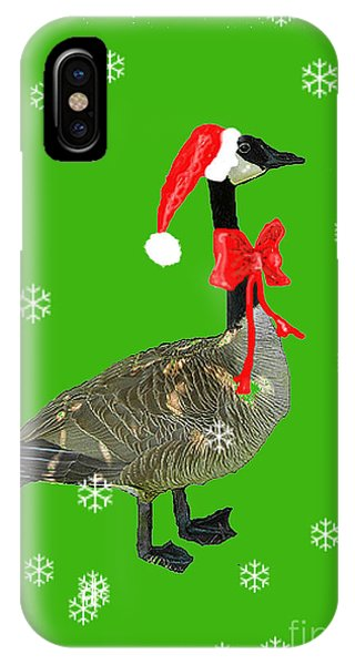 Christmas Goose IPhone Case