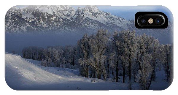 Christmas Morning Grand Teton National Park IPhone Case