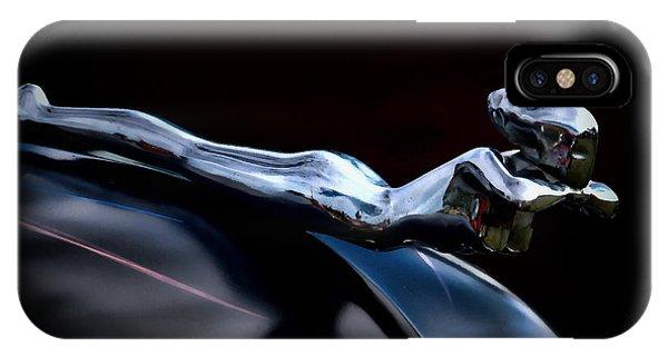 Chrome iPhone Case - Chrome Angel by Douglas Pittman