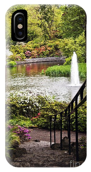 Chrystal Spring Rhododendron Garden  IPhone Case