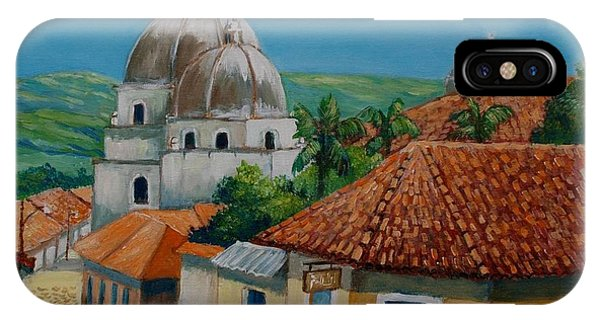 Church Of Pespire In Honduras IPhone Case