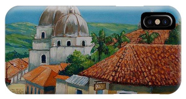 Church Of Pespire In Honduras IPhone Case