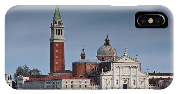 Church Of San Giorgio Maggiore Venice Italy IPhone Case