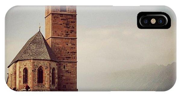 Architecture iPhone Case - Church Of Santa Giustina - Alto Adige by Luisa Azzolini