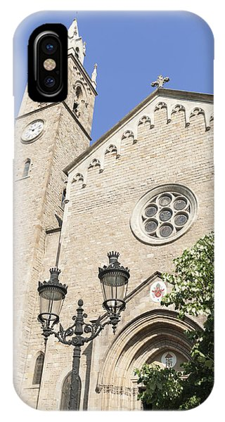 Church Parroquia De La Purissima Concepcio Barcelona Spain Phone Case by Matthias Hauser