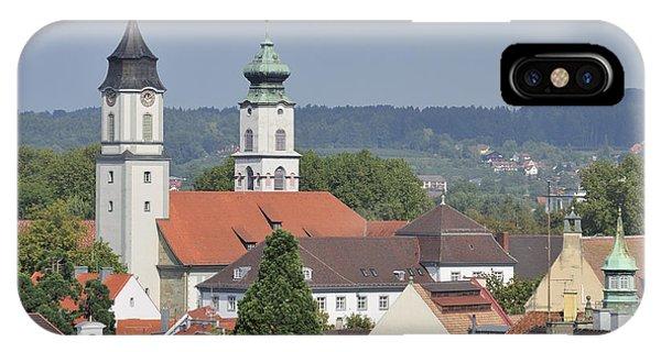 Churches In Lindau Germany IPhone Case