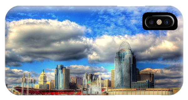 Cincinnati Skyline 2012 - 2 IPhone Case