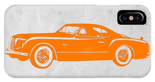 American Cars iPhone Case - Classic Car 2 by Naxart Studio