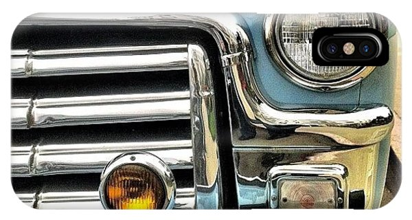 Classic iPhone Case - Classic Car Headlamp by Julie Gebhardt