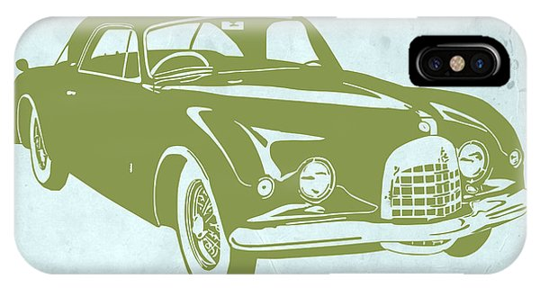 American iPhone Case - Classic Car by Naxart Studio