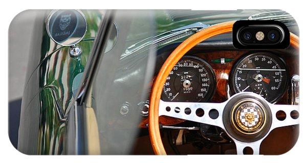 Classic Green Jaguar Artwork IPhone Case