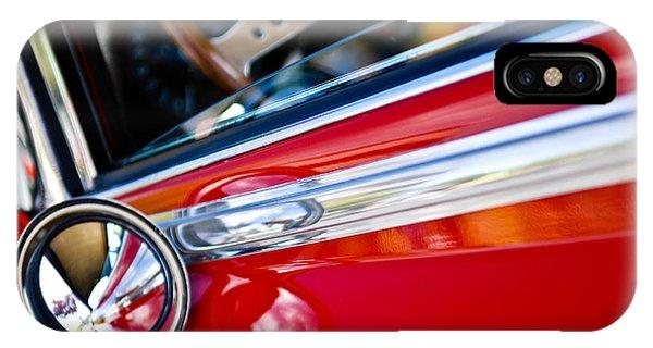 Classic Red Car Artwork IPhone Case
