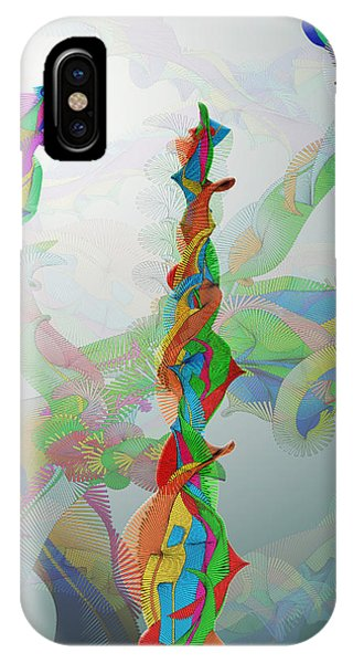 Classical Chaos Phone Case by Eric Heller