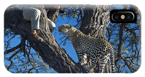 Close Encounter Namibia IPhone Case