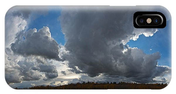 Clouds And River Edmonton IPhone Case