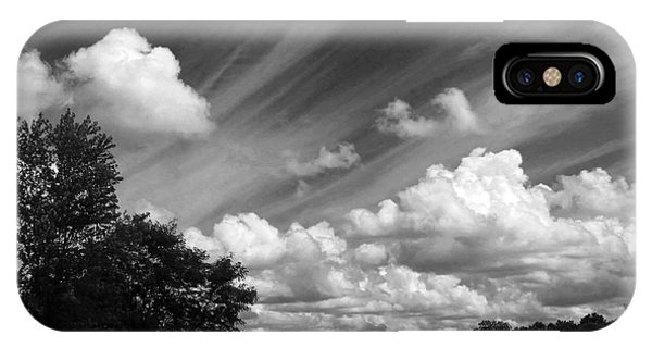 Clouds Over The Lake 1 IPhone Case
