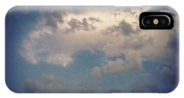 #clouds #sky #nature #andrography Phone Case by Kel Hill