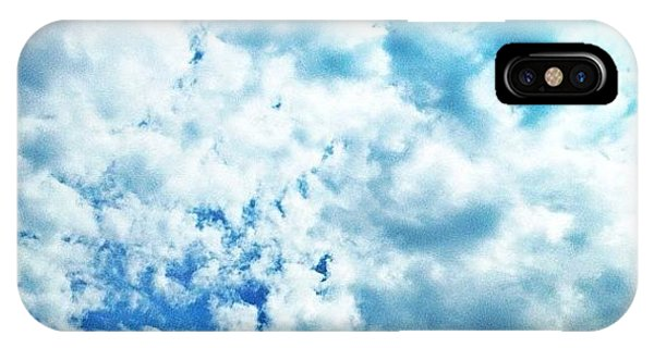 Cause iPhone Case - Cloudy Blue Sky by Isabel Poulin