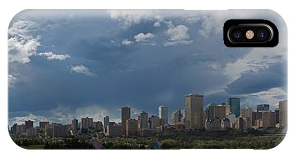 Cloudy Panorama Edmonton IPhone Case
