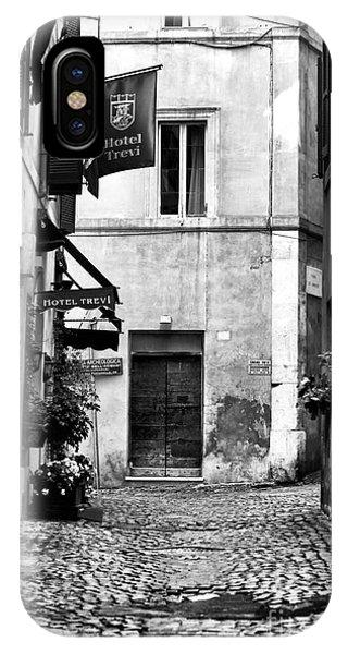 Cobblestone In Rome Phone Case by John Rizzuto