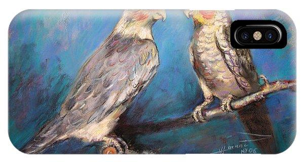 Coctaiel Parrots IPhone Case