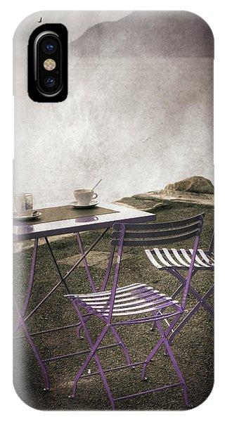 Lake iPhone X Case - Coffee Table by Joana Kruse