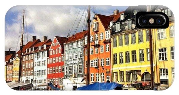 House iPhone Case - Color In Copenhagen by Luke Kingma