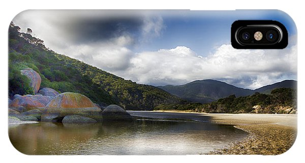 Wilsons Promontory iPhone Case - Color Of The Rocks V3 by Douglas Barnard