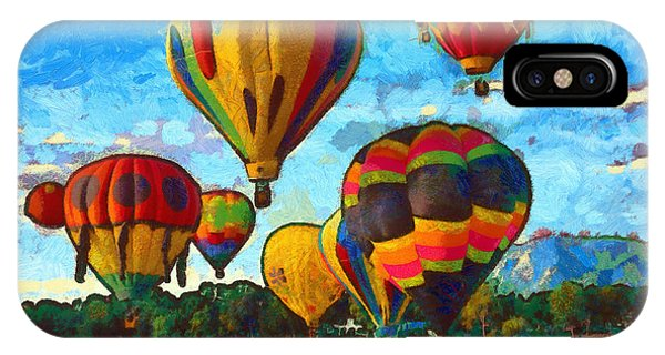 Colorado Springs Hot Air Balloons IPhone Case